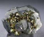 Fluorite-quartz-pyrite Combination